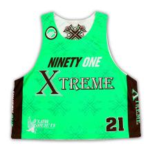 Custom Sublimation Lacrosse Jersey em estilo novo com alta qualidade