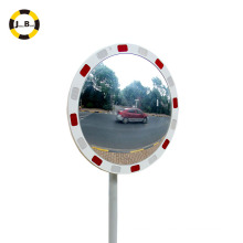 """24""""reflective traffic safety convex mirror avoid traffic accident assit road safety wearproof"""