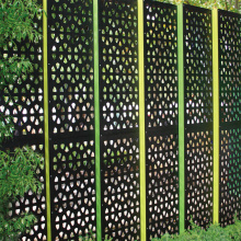 Decorative Metal Outdoor Screens