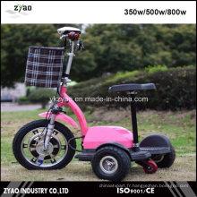 Scooter mobile à mobilité réduite avec batterie 3 Wheeler