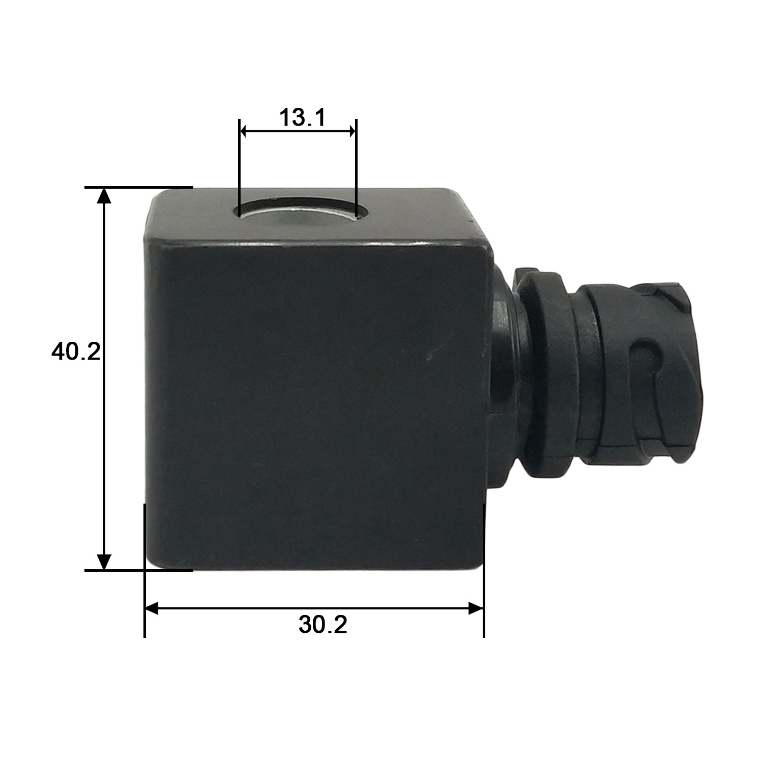 Dimension of BB13241042 Solenoid Coil: