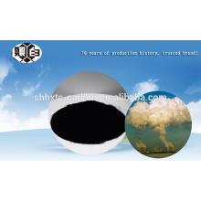 Tratamento de gases de combustão de incineração de resíduos com carvão ativado por carvão