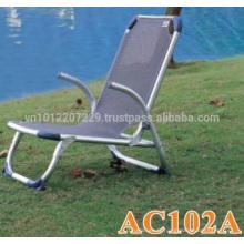 Chaise en aluminium