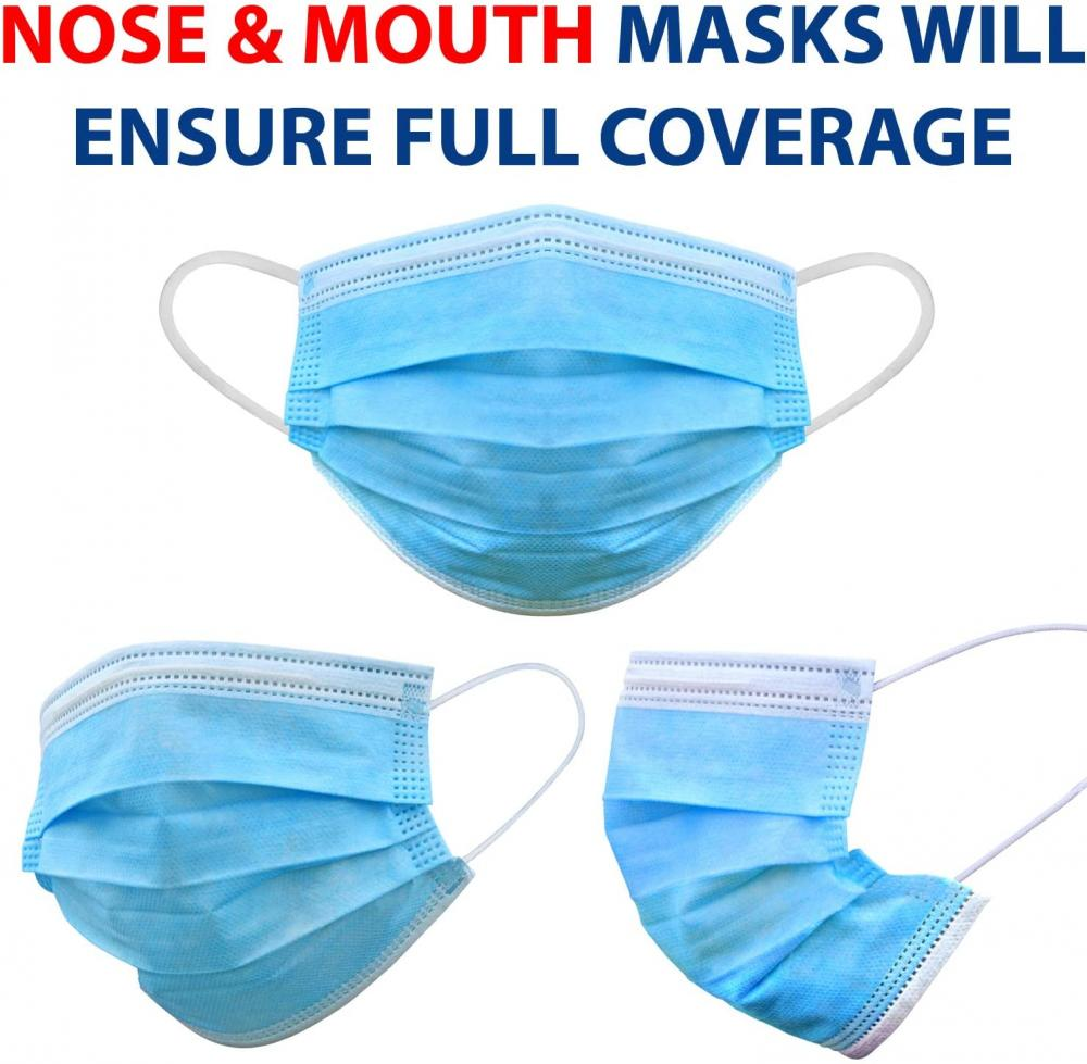 3 Ply Thicker Breathable Comfortable Medical Masks