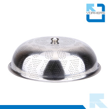 Kitchen Tool Stainless Steel Dome Dish Plate Food Cover