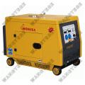 Diesel-Generator, Schutzschalter schützt Überladung Betrieb