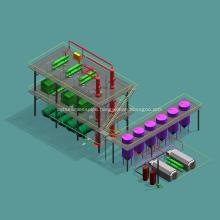 Continuous Crude Oil Refinery Machine For Sale