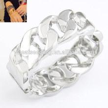 Wholesale hotsale silver alloy bangle cuff bangle twisted bangle
