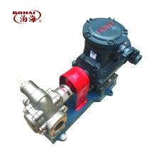 pompe à engrenages durable en acier inoxydable à haut débit pour l'huile de lubrification