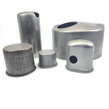 OEM customized stamping press service steel galvanized stamping parts deep drawn shells