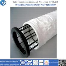 L'usine approvisionnent directement le sac de filtre de la poussière de PTFE pour l'industrie de métallurgie avec l'échantillon gratuit