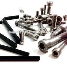 Черный ключ с шестигранным ключом, ключ с шестигранным ключом из нержавеющей стали
