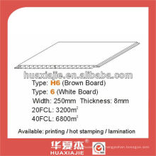 PVC 250mm * 8mm Wand- und Deckenplatte