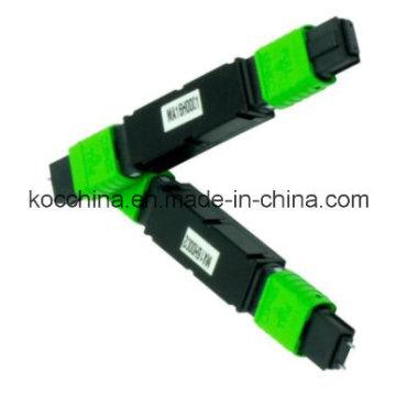 MPO / MTP Feber Optik Attanuator com jaqueta verde para CATV Use Koc China