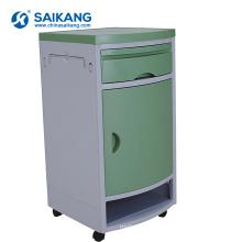 SKS003 Hospital Mobile ABS Medical Cabinet With Castors