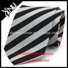 Homens Stripe 100% Gravata De Seda