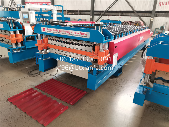 O100 And R101double Layer Forming Machine