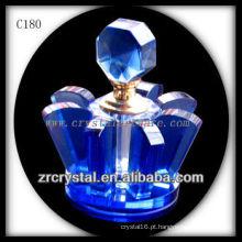 Frasco de perfume de cristal agradável C180