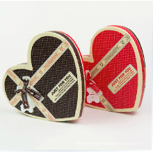 Custom Made Heart Shaped Chocolate Box with Divider