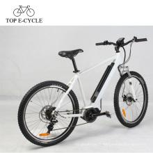 Vélo de montagne électrique de suspension de 36V 250W avec bafang 8fun mid motor chinois