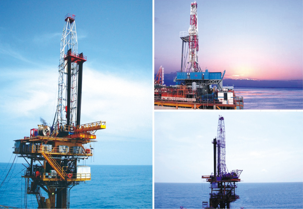 Offshore Drilling Rig For Oil And Gas Project Service 1