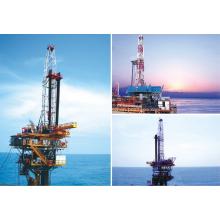 Plate-forme de forage de gaz de pétrole offshore 2000hp à vendre