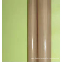 PTFE fabric with very low coefficient of friction