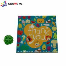 Sunmeta factory supply coated dye sublimation tile