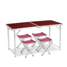 Fabricação de alumínio moderno camping mesa dobrável mesa de piquenique quadro