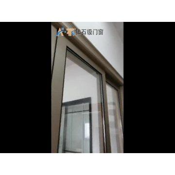 Latest high quality Environmental Heavy Duty Double Glazed Aluminum frame Sliding Window