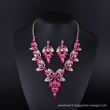 2016 Fashion Design Purple Grace Sharp collier ensemble