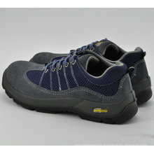 Blue Leather Men Safety Work Shoes Ufa103