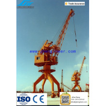 40t Shipyard Portal Crane portal Jib Crane ,10T Single Jib Harbor Portal Crane for Dock and Shipyard