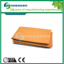 Logo printed orange germany nonwoven super absorbent cleaning cloth