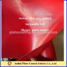Pvc брезент покрытие брезент материал производства Plato