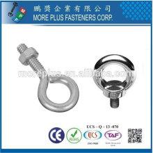 Taiwán Acero de aleación Acero inoxidable Acero al carbono JIS 1168 DIN580 Ojo de soldadura Bolt hombro patrón pernos
