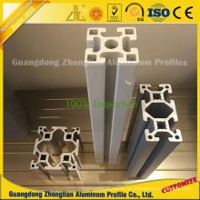 Extrusiones de aluminio ISO 9001 para línea de producción industrial Perfil de aluminio