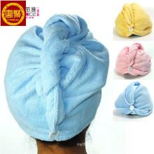 2014 Новый микрофибры Магия сушки тюрбан обертывание полотенце/шляпу/Крышка волос сухой быстрый Сушилка Ванна салон полотенца крышка HL114
