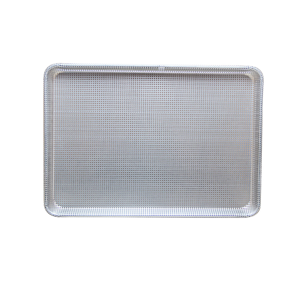 Perforated Aluminum Rectangle Pan