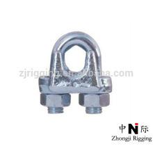 Clip de câble métallique malléable TYPE A