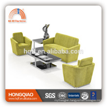 S-31 stainless steel fram modern fabric sofa foshan sofa