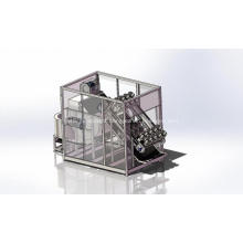 Super compact poultry processing machine