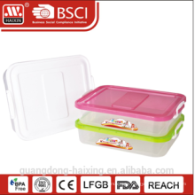 plastic storage container w/wheels 5.6L