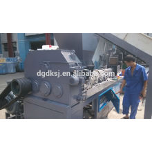 PE PP film Double-shaft two stage Plastic Recycling granulator machine