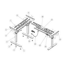 Smart Desk Electric Desk Height Adjustable