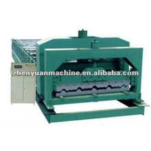 Tile effect metal roof roll forming machine