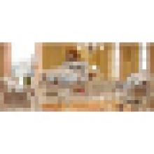 Sofá da sala de visitas para a mobília home de madeira ajustada (992R)
