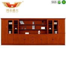 Morden Big Office Teak Wood Filing Cabinet (HY-C0811)