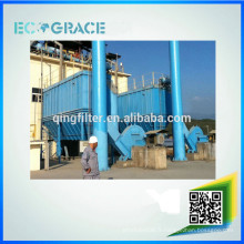 Machine à filtre à poussière de l'usine de ciment à longue durée de service