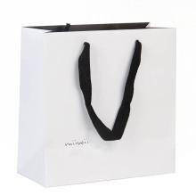 Bolso de encargo de los cosméticos del papel de la moda